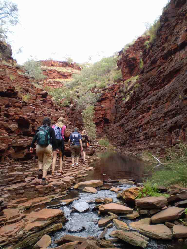group tours Karijini NP Western Australia