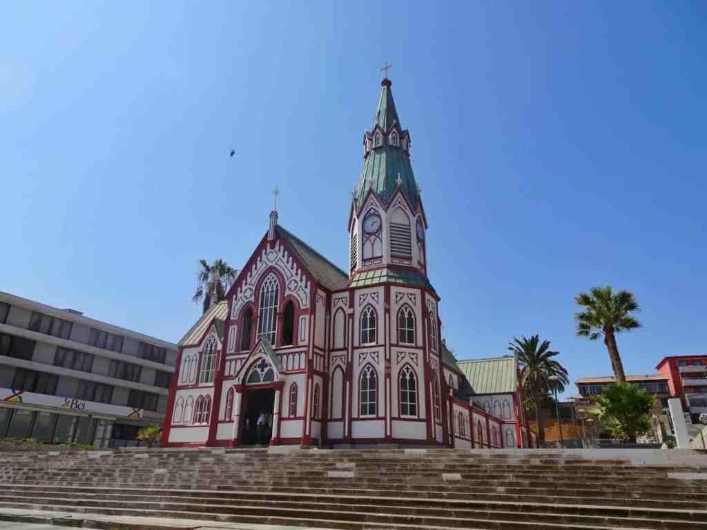 Arica church