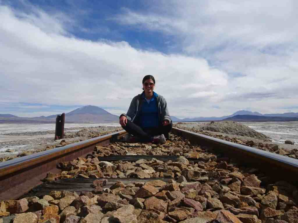 Railroad in Southern Bolivia