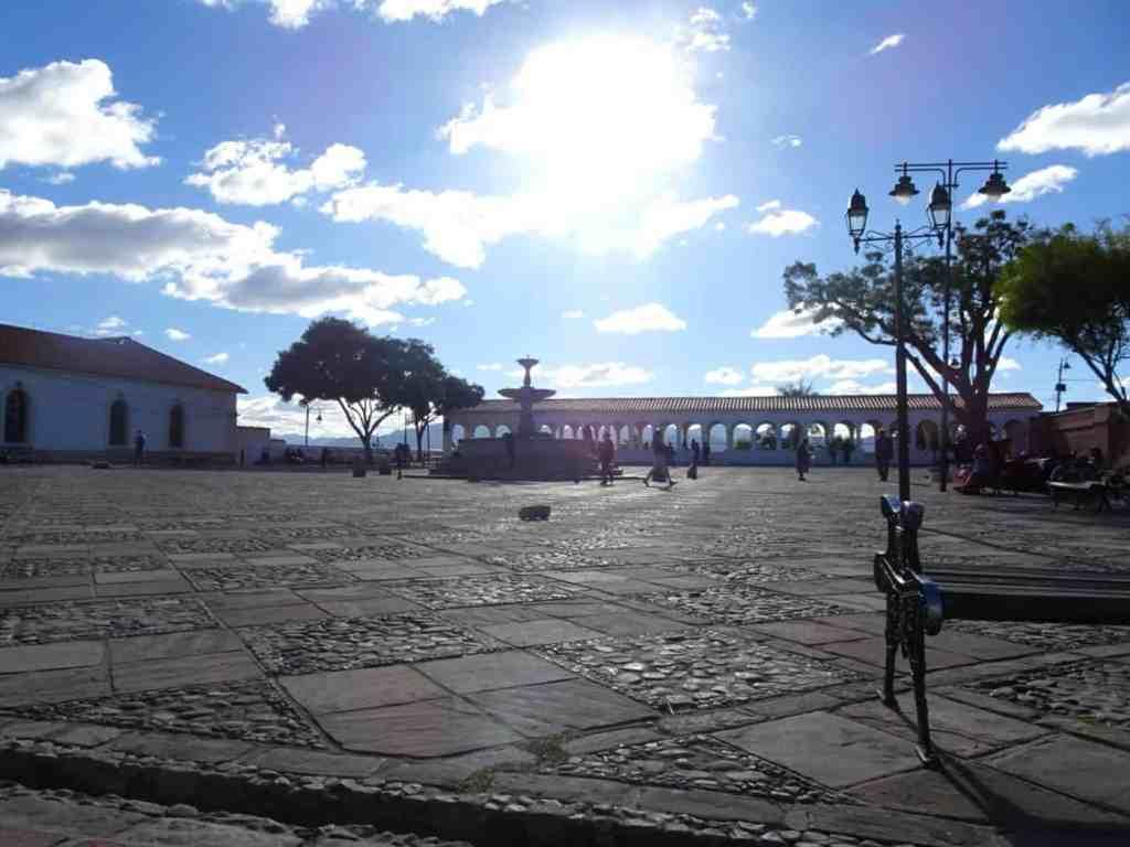 Ricoleta Square Sucre Bolivia