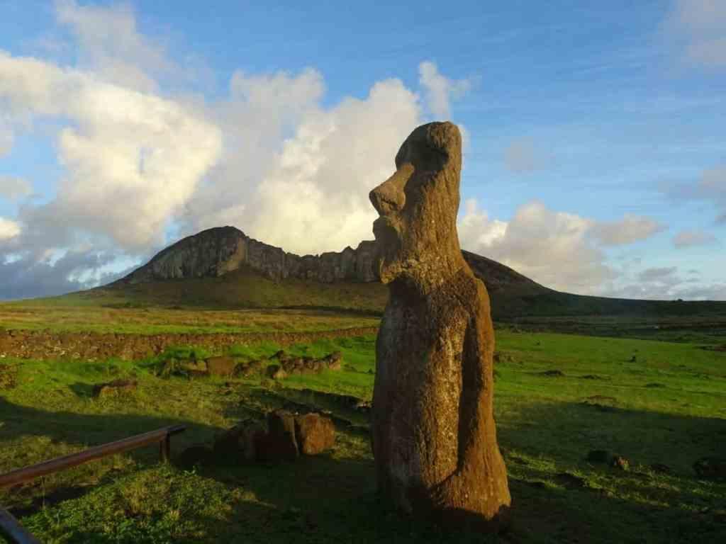 Sunrise at Tongariki Easter island