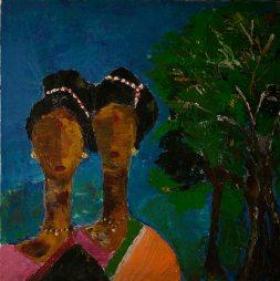 Artist: Mamta Chitris Sen Title: Sisters in Love