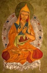 Artist Mary Jane Miller Title: Atisha large