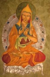 Artist: Mary Jane Miller Title: Atisha