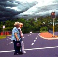 Artist: Stephen Kaldor Title: Hurry up dear
