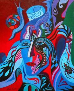 Artist:Nina Tokhtaman Valetova Title: Alfa