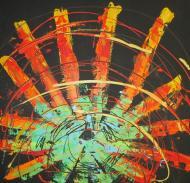 Artist: Romaine-Kaufman Title: Heart f The Desert Image 1