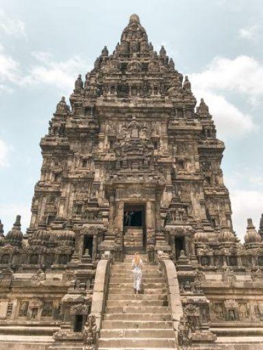 Uitzicht Prambanan