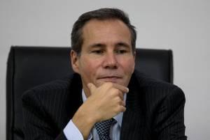 Argentine prosecutor Alberto Nisman is pictured speaking to journalists in 2014.  (AP Photo/Natacha Pisarenko)