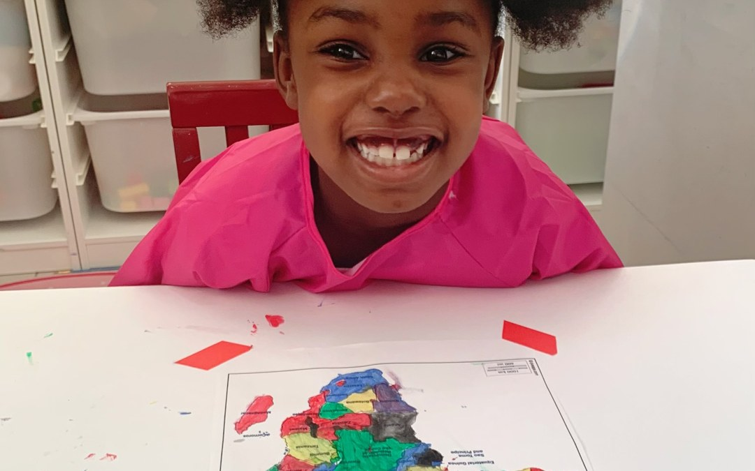 Africa in color: Art activity