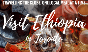 I travel to Ethiopia without leaving the city by eating Ethiopian food in Toronto. I sample Injera, Dot Wat and experience an Ethiopian coffee ceremony.