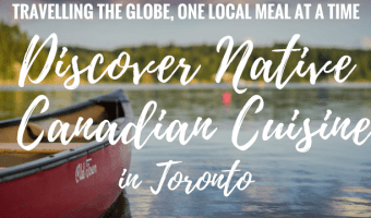 Native Canadian Food in Toronto: Tea & Bannock