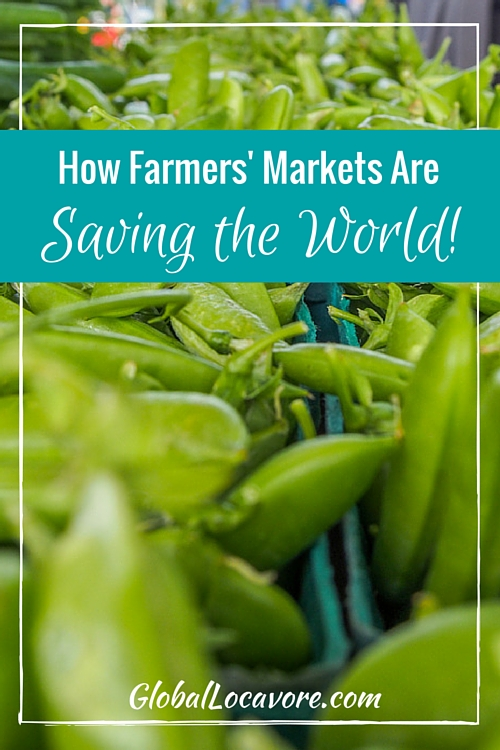 The path to a healthy diet, a strong local economy and a vibrant community passes right through the farmers' market.