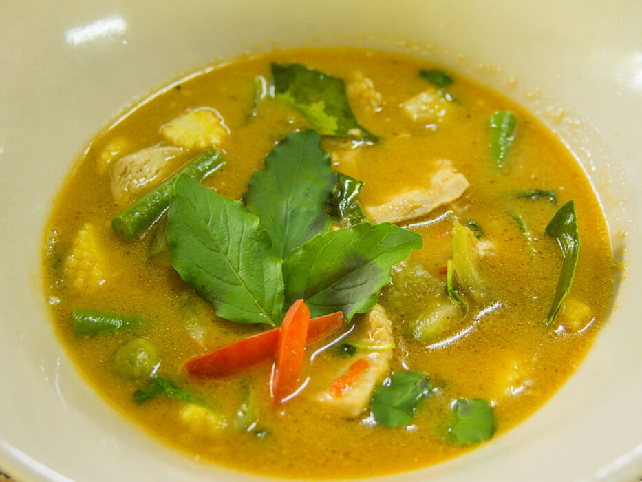ready to eat thai coconut curry