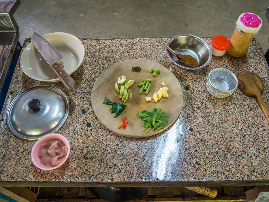 organic thai food ingredients