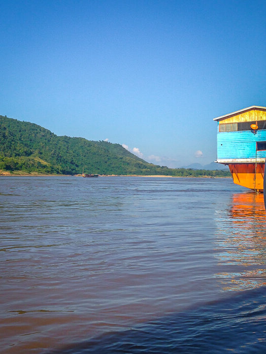 slow boat mekong river laos