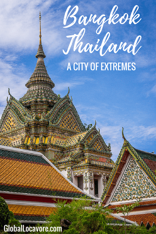 Photo essay: Bangkok, Thailand is a city of extremes - poverty & wealth, beauty & decay, modern & ancient. It is crowded, chaotic and endlessly captivating.
