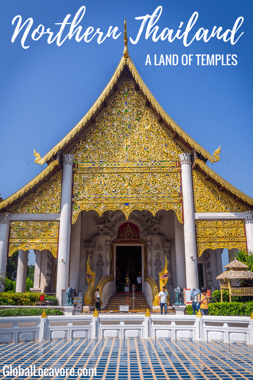 Photo Essay: I discovered a land of temples when visiting the ancient cities of Chiang Mai, Chiang Rai & Chiang Khong in Northern Thailand.