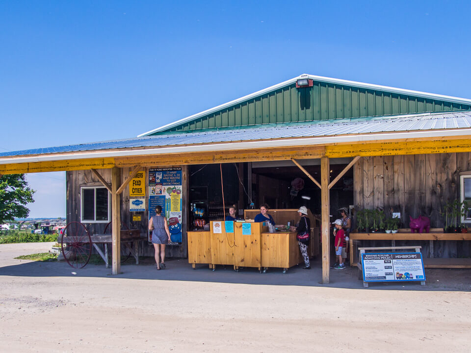 farm market entrance