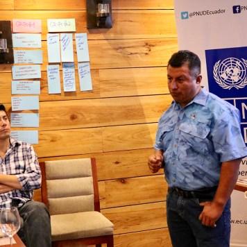Richard Cañarte, Técnico Subsecretaria de Recursos Pesqueros Ecuador.