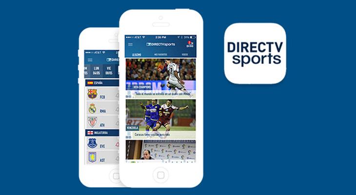 DIRECTV Sports App se renueva para vivir los deportes | Global Media IT