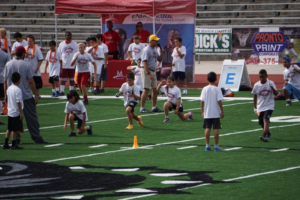 reggie bush at procamps