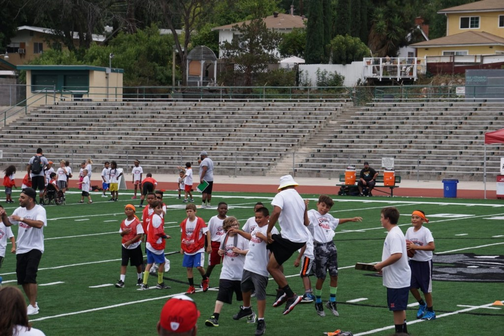 Pro having fun at procamps