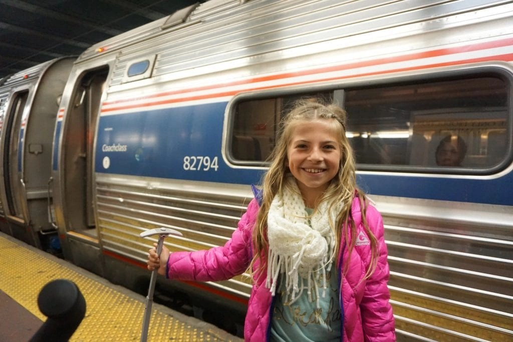 Amtrak with kids