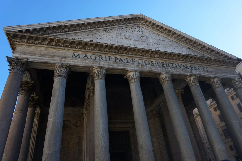 Excellent Shot of the Pantheon