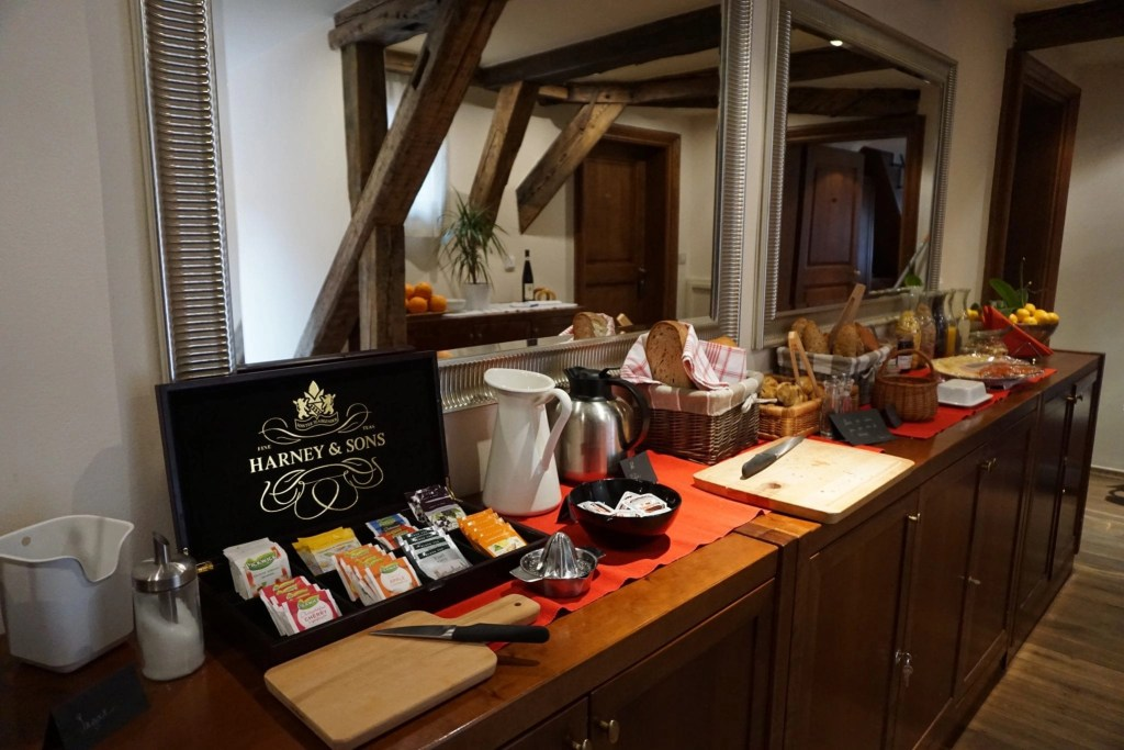 Free breakfast buffet The Nicholas Hotel Residence in Prague. A review by Global Munchkins