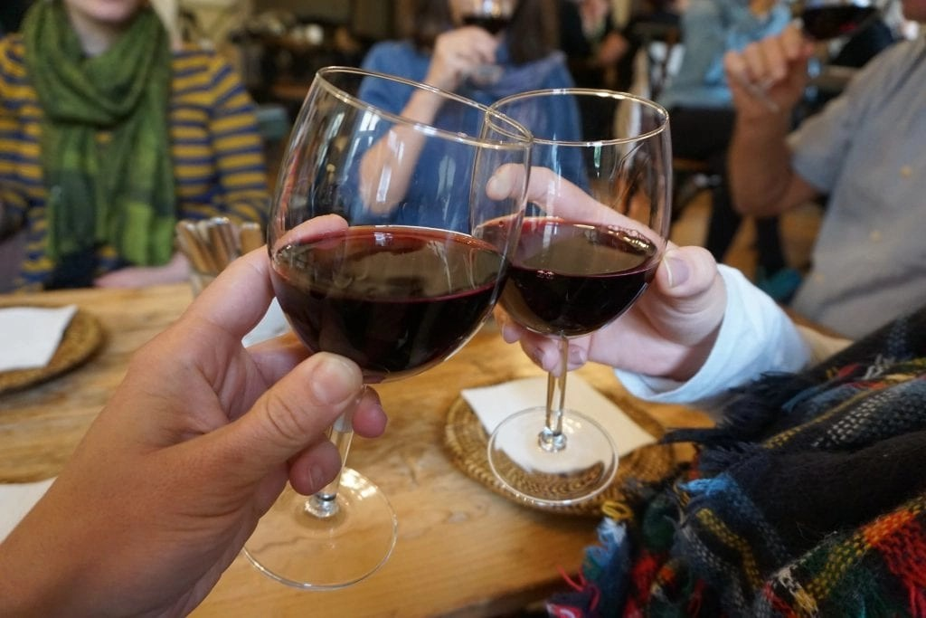 My favorite Black Currant Wine in Prague on the Eating Prague Food Tour by Global Munchkins