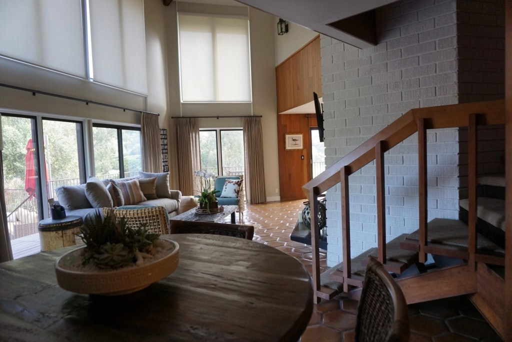 Inside the Treehouse at The Ranch at Laguna Beach