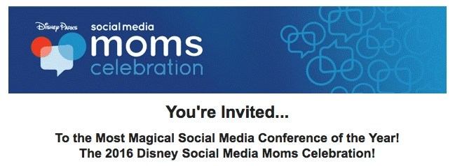 Disney SMMC invitation email