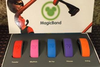 Our family's magic bands for Disneyworld Disney Social Media Moms Celebration #DisneySMMC