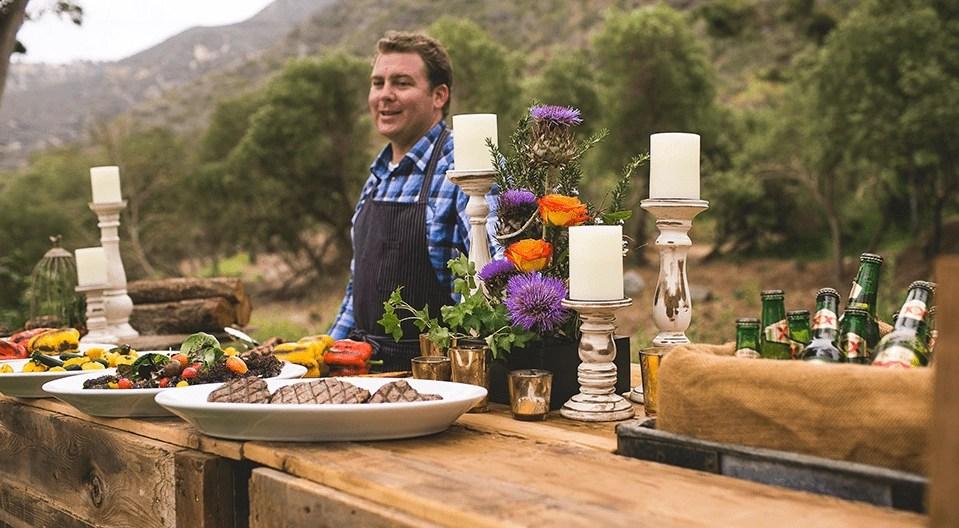 catering at The Ranch at Laguna Beach