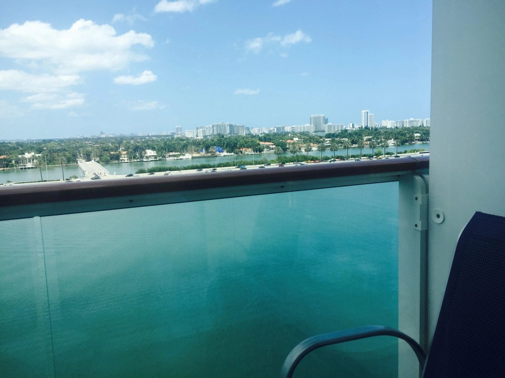 Miami Port on Norwegian Cruise