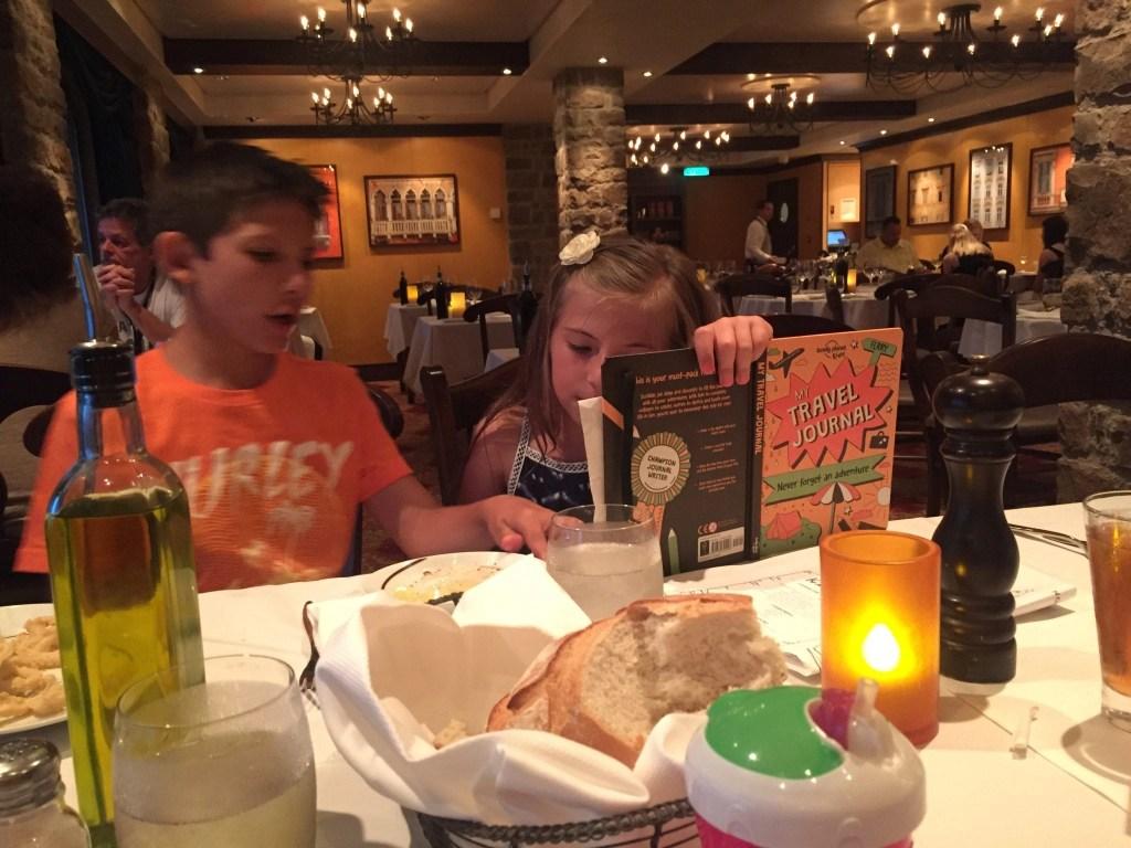Family Dinner at La Cocina NCL Getaway