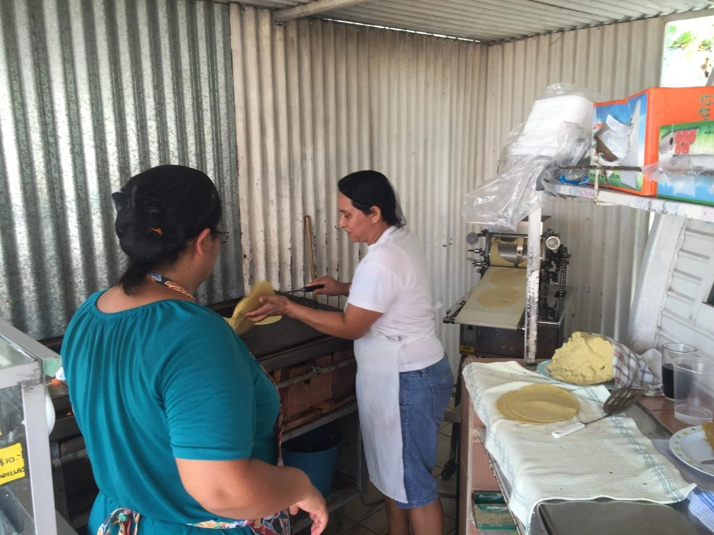 Handmade Tortillas in Cozumel on the Cozumel Chef food tour