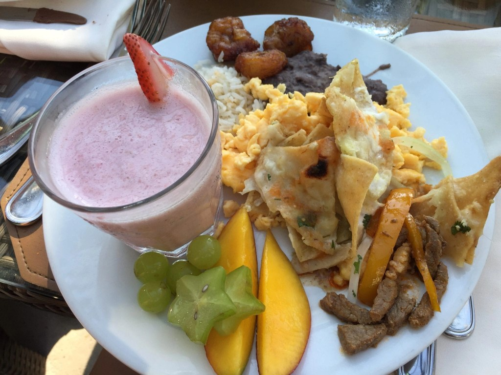 Breakfast at the Hard Rock Cancun