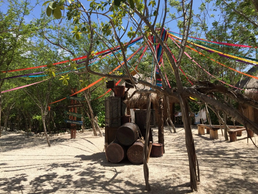 A peek inside Maya Park in Costa Maya Mexico
