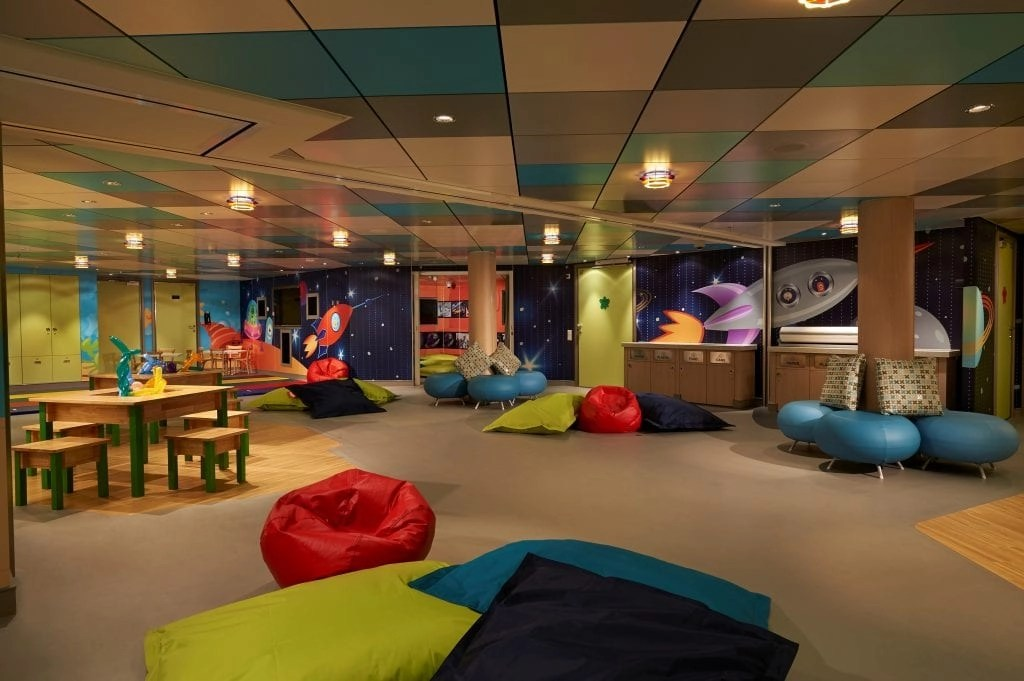 Splash Academy Kids Club on the Norwegian Cruise Getaway ship