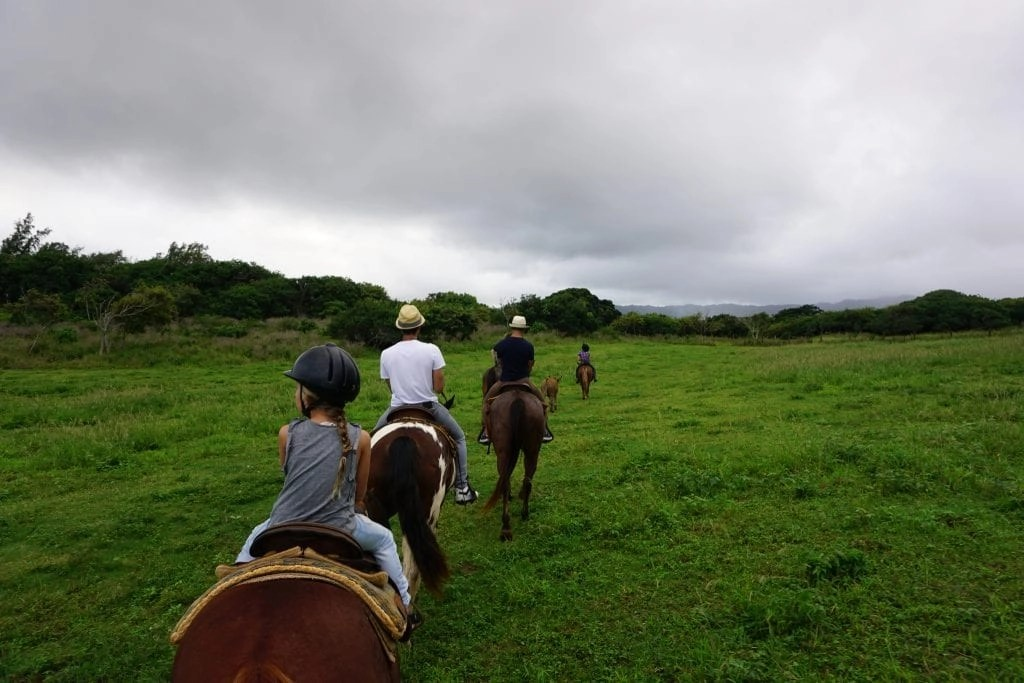 Gunstock Ranch Horseback Ride in Oahu