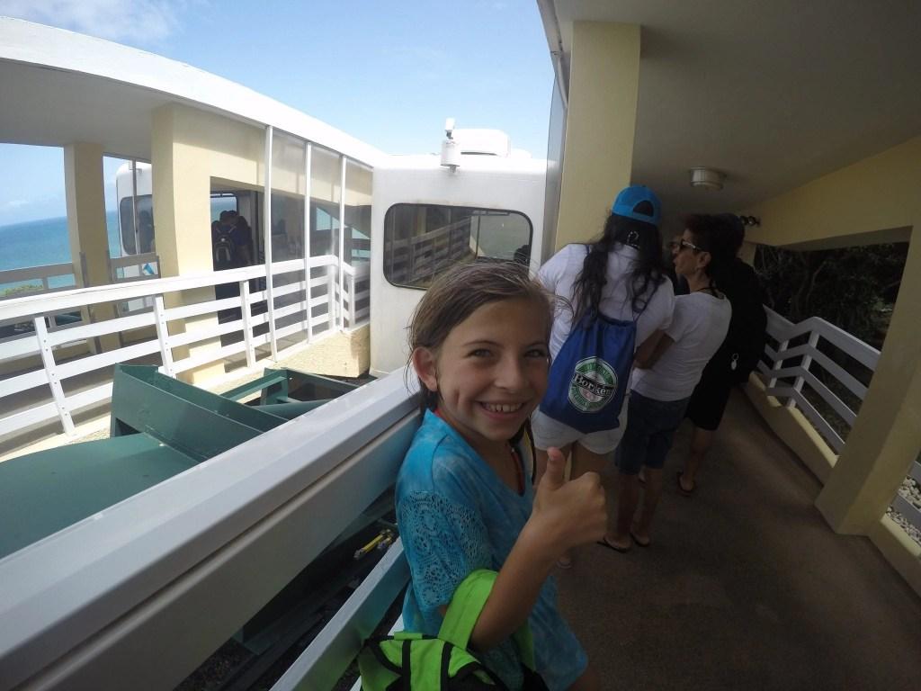 Funicular at El Con Resort