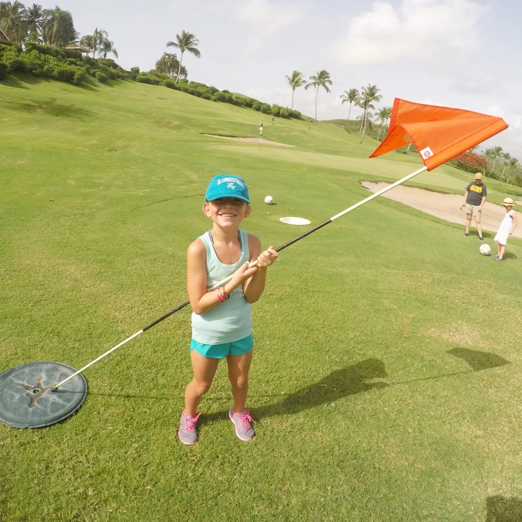 El Conquistador Foot Golf. The only foot golf course in Puerto Rico