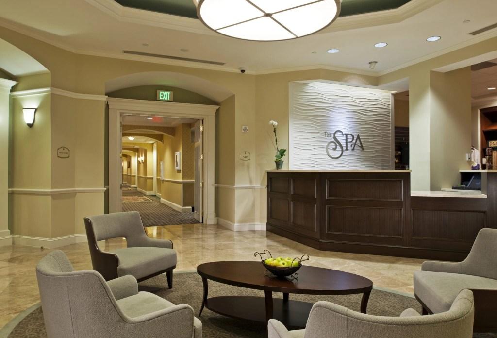 Spa Lobby at the Ballantyne Resort in NC | Global Munchkins