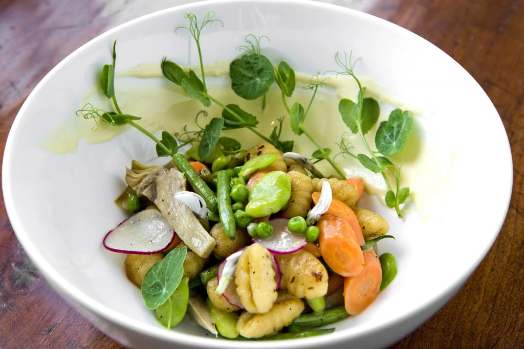 Gnocchi from The Gallery Restaurant at The Ballantyne Hotel in North Carolina