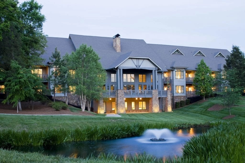 The Lodge at the Ballantyne Resort in NC   Global Munchkins