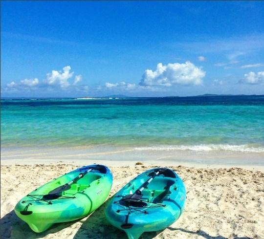 Kayaking on Palomino Island at El Conquistador Resort