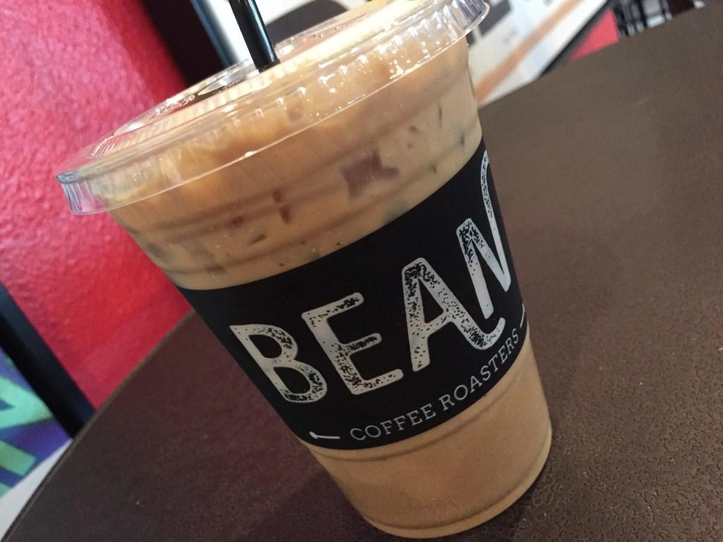 Bean Coffee Roasters Iced Latte in Temecula   Global Munchkins
