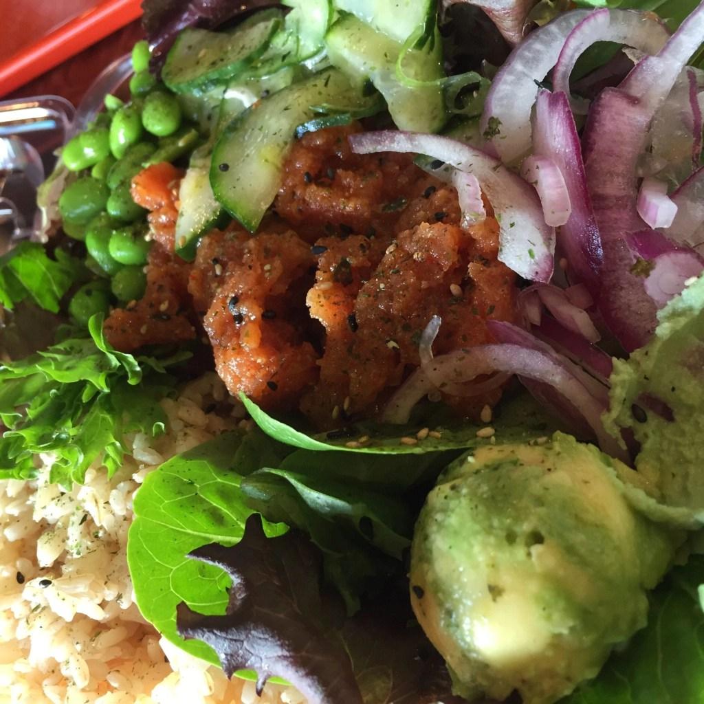 Poke' n Salads Poke Bowl in Temecula   Global Munchkins